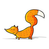 Kreslený liščátka — Stock vektor