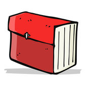 Cartoon business file — Stock Vector