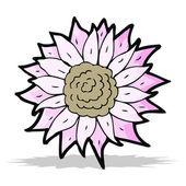 Karikatura slunečnice — Stock vektor