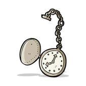 Cartoon old watch — Stock Vector