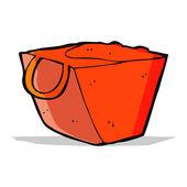 Cartoon noodle box — Stock Vector