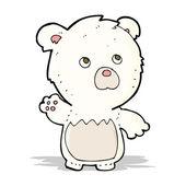 动漫极地泰迪熊 — 图库矢量图片