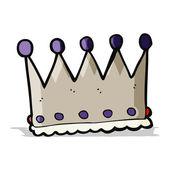 Cartoon-krone — Stockvektor