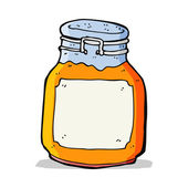 Cartoon marmalade preserve — Vector de stock