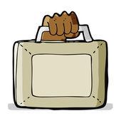 卡通公文包 — 图库矢量图片