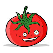 Cartoon tomato — Stock Vector