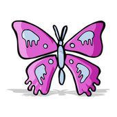 мультипликационная бабочка — Cтоковый вектор