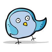 Pássaro de desenhos animados — Vetor de Stock