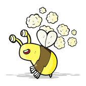 卡通快乐蜂 — 图库矢量图片