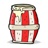 卡通桶 — 图库矢量图片