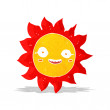 Cartoon happy sun — Stock Vector #50482941