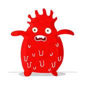 Cartoon funny slime monster — Stock Vector
