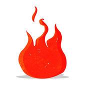 漫画炎のシンボル — ストックベクタ