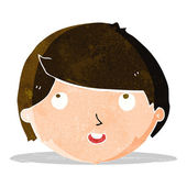 Happy face cartoon — Wektor stockowy