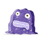 Cartoon slime creature — Stock Vector