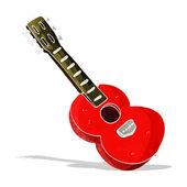 漫画ギター — ストックベクタ