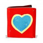 Cartoon love heart card — Stock Vector #51098313