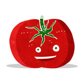 Cartoon tomato — Stock Vector