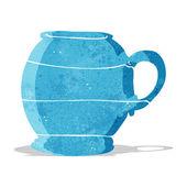 Cartoon old style mug — Stock Vector