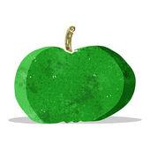 Cartoon happy apple — Stock Vector