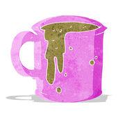 Cartoon coffee mug — Stock Vector