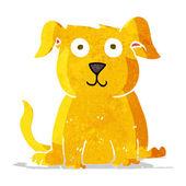 漫画幸せな犬 — ストックベクタ