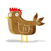 Cartoon hen — Stock Vector