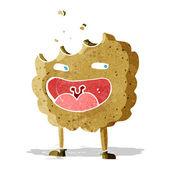 Cookie stripfiguur — Stockvector