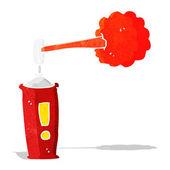Cartoon spray can — Stock Vector