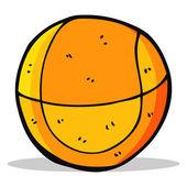 Kreslený basketbal — Stock vektor