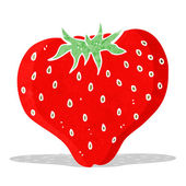 Cartoon strawberry — Stock Vector