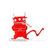 Cartoon little demon — Vettoriale Stock