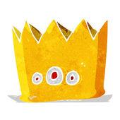 Cartoon crown — Stock Vector