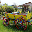 Ox Cart - Stock Photo