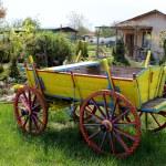 Ox Cart — Stock Photo