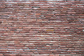 Red bricks wall background. — Stockfoto