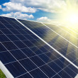 Foto Stock: Renewable solar energy