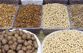 Close-up of assorted nuts — Stock Photo