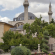 Tomb of Mevlana, founder of Mevlevi sufi dervish order, with — Stock Photo #30525569