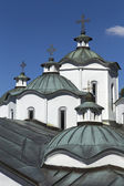 Orthodox church and monastery, St.Joachim Osogovsk — Stock Photo