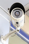 Day & Night Color IP surveillance camera — Stock Photo