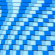 Blue square abstract background  — Stock Photo