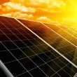 Renewable solar energy — Stockfoto #34433769