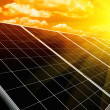 Renewable solar energy — Stock Photo