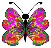 Colored butterfly — Stock Photo