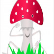 Fly-agaric — Stock Vector