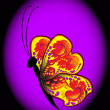 Royalty-Free Stock Imagem Vetorial: Beautyiful butterfly
