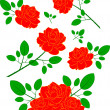 Royalty-Free Stock Vector Image: Beautiful roses