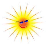 黒眼鏡をかけて太陽 — ストックベクタ