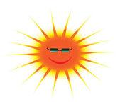 Negro de óculos de sol — Vetor de Stock